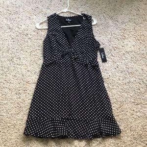 Lulus polka dot dress